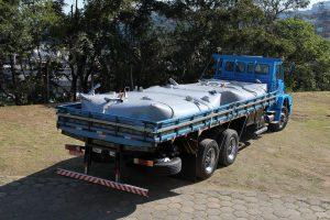 Reservatório d'agua móvel - se adapta a diversos veículos