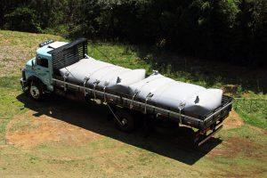 Viniliq pipa reservatório d'água móvel